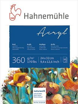 Hahnemühle Akrylblock 360gr 24x32cm 10ark