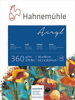 Hahnemühle Akrylblock 360gr 36x48cm 10ark