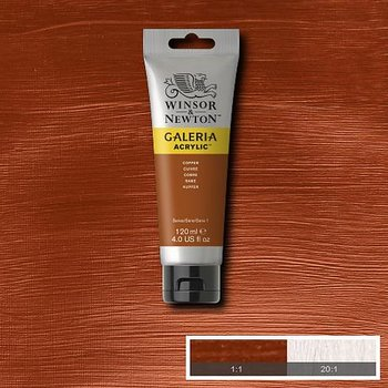 Akrylfärg Galeria 120ml Copper 214