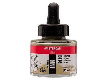 Akryltusch Amsterdam 30 ml 815 Pewter