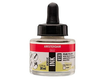 Akryltusch Amsterdam 30 ml 818 Pearl Yellow