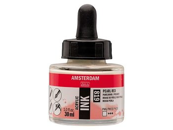 Akryltusch Amsterdam 30 ml 819 Pearl Red