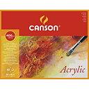 Canson Block Akryl 24x32cm 400 gram 10ark