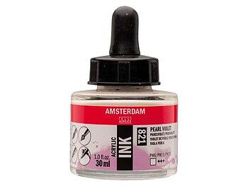 Akryltusch Amsterdam 30 ml 821 Pearl Violet