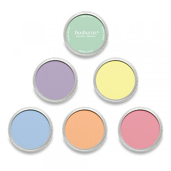PanPastel Metallic Set - 6 Pärlemor Set