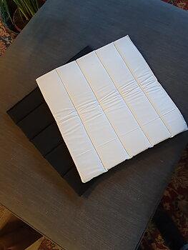 Paddar 2-pack. Vita eller svarta
