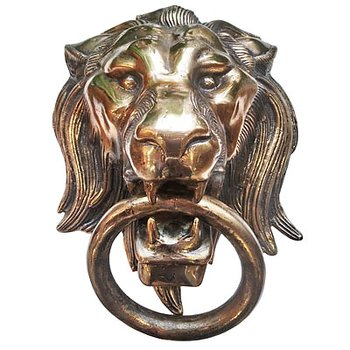 Door Knocker Lion 30x42x18cm