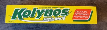 Kolynos tandkräm super white 75ml