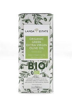 Lamda estate organic BIO olivolja extra jungfru 5L