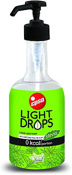 Light Drops, stevia 500ml
