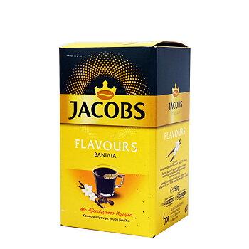Jacobs flavours, kaffe, vanilj 250g