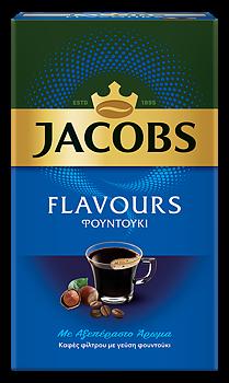 Jacobs flavours, kaffe,  hasselnöt 250g