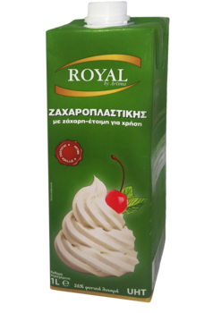 ROYAL CONFECTIONERY MED SOCKER 1L 26% VEGETABLE FAT