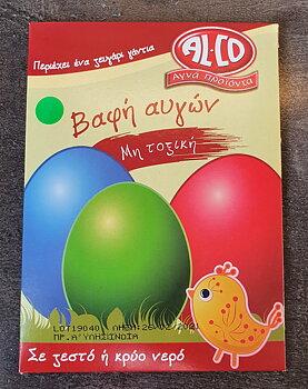 Färg till ägg grön