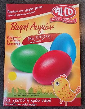 Färg till ägg gul