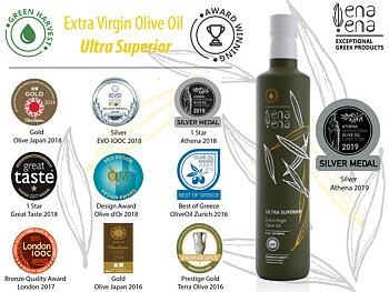 Extra Virgin Olive Oil Ultra Superior 500ml, ENA ENA