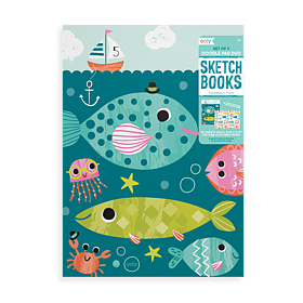 Skissblock 2-pack - Friendly Fish