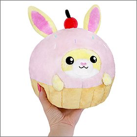 Squishable - Undercover Bunny in Cupcake