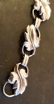 Silver bracelet 1950s