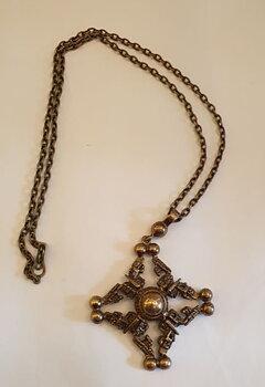 Necklace bronze Finland 1960s