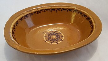 Oval bowl 19th century