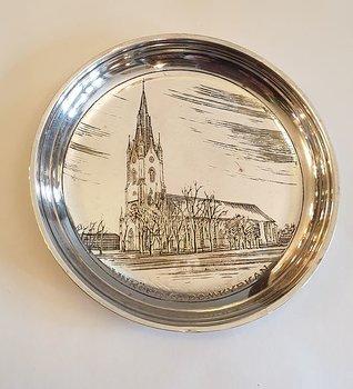 Linkoping souvenir plate