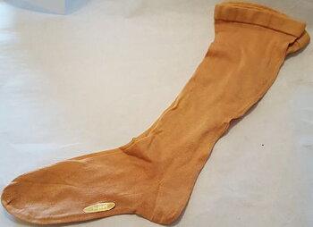Knee socks apricot 1940's