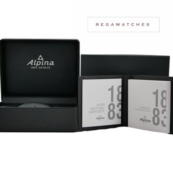 Alpina Seastrong Diver GMT Blue AL-247LNN4TV6B
