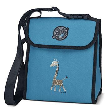 Carl Oscar Pack n' Snack - kylväska turkos giraff