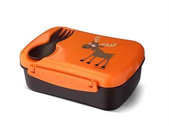 Carl Oscar N'ice Box matlåda barn kylskiva Orange