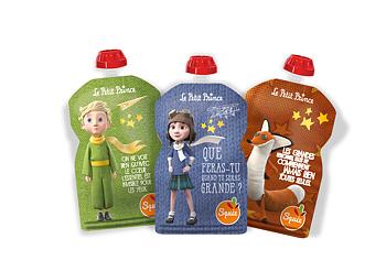 3-pack Squiz klämpåse  - Le Petit Prince