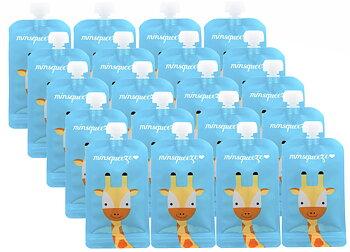 20-pack Minsqueeze Giraffe klämpåse