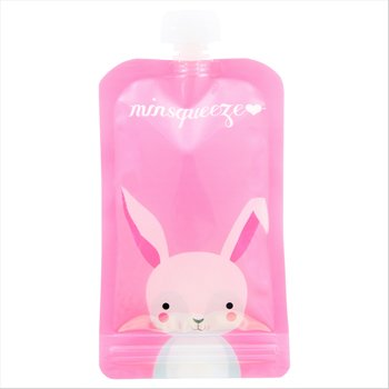 1-pack Minsqueeze Rabbit klämpåse