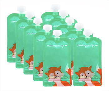 10-pack Minsqueeze Fox klämpåse