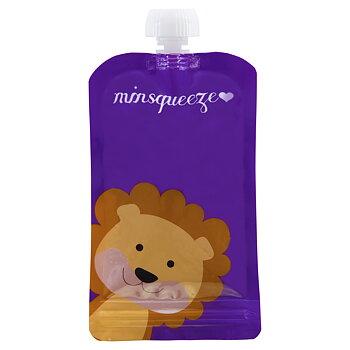 1-pack Minsqueeze Lion klämpåse