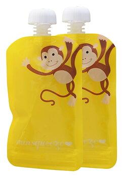 2-pack Minsqueeze Monkey klämpåse