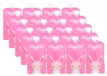 20-pack Minsqueeze Rabbit klämpåse
