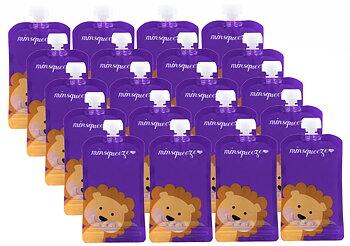 20-pack Minsqueeze Lion klämpåse