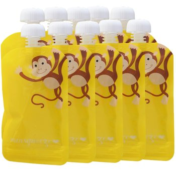 10-pack Minsqueeze Monkey klämpåse