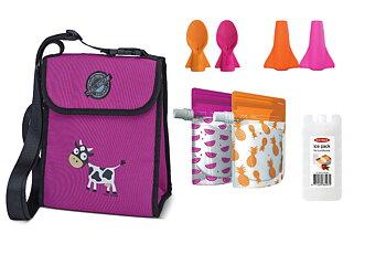Klämpåse - Startkit Cherub - Orange och rosa