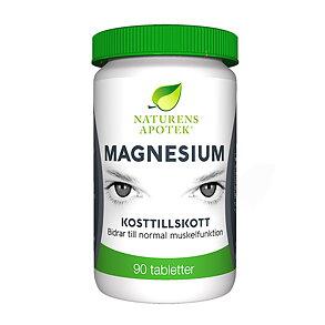 Magnesium 90t - Naturens Apotek