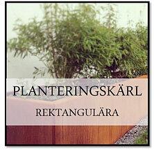 Planteringskärl rektangulära