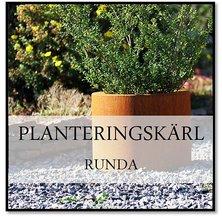 Planteringskärl runda