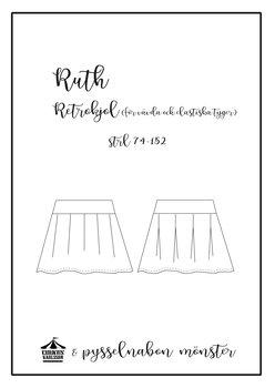 """PAPPER  Mönster BARN """"Ruth"""" Retrokjol strl 74-152"""