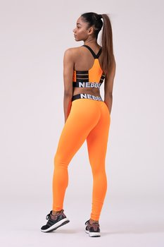Squad Hero Scrunch Butt Tights, Orange