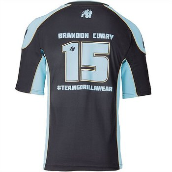 Athlete T-Shirt 2.0 Brandon Curry, black/light blue