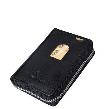 Kortplånbok Balmoral svart