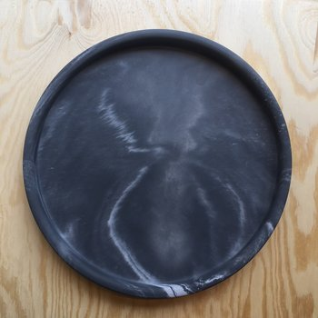 Marbled Tray - Dark Marbled