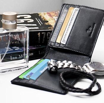 Plånbok Brampton svart