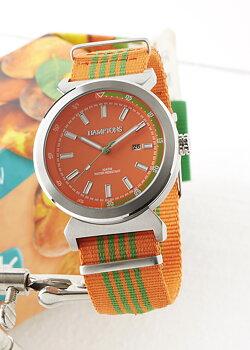 Westhampton Armbandsur Orange/Grön